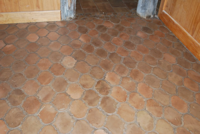 French tile Riviera pattern