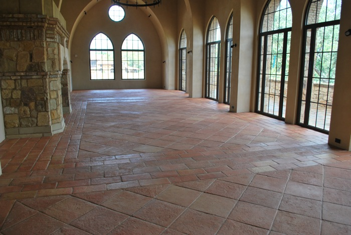Handmade Terracotta Tiles Mexican Saltillo And European Styles