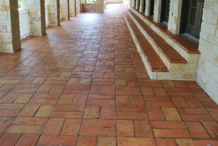 Terra Cotta Outdoor Patio Tiles Modern amp