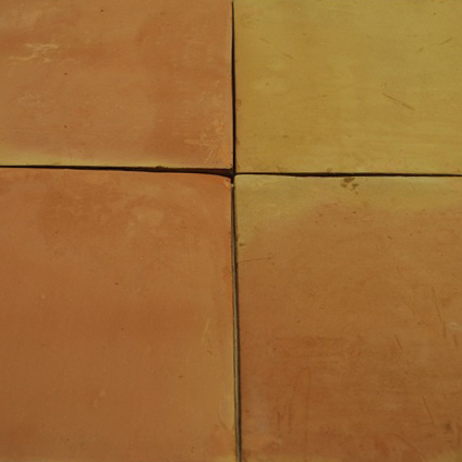 Unsealed Saltillo Tile in Natural