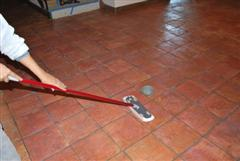 Sealing terracotta tile